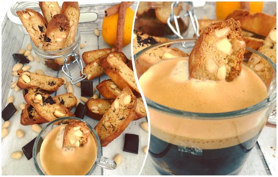 Cantuccini (glutenfrei, milchfrei, ohne Zuckerzusatz, sojafrei)