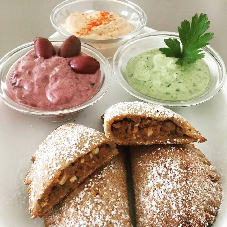 Empanadas (glutenfrei, hefefrei, kohlenhydratreduziert, milchfrei, sojafrei, Paleo)