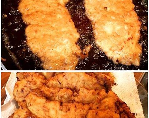 Fleisch gebacken (glutenfrei, kohlenhydratreduziert, milchfrei, sojafrei)
