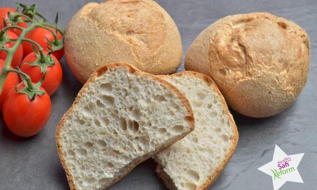 Eiweißhaltiges Brot, Brötchen (eigelbfrei, fettarm, glutenfrei, hefefrei, kohlenhydratreduziert, milchfrei, Paleo)