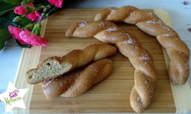 Zucker-Kipferl, Brioche (Paleo)