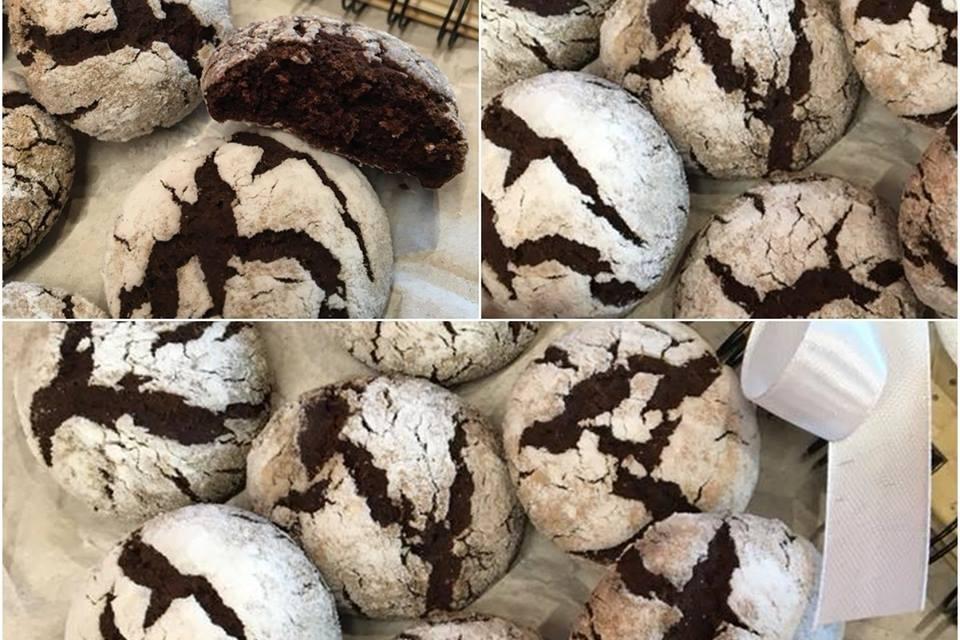 """Große """"Schoko""""-Kekse (eifrei, glutenfrei, milchfrei, ohne Butter, ohne Zuckerzusatz, schokofrei, vegan)"""