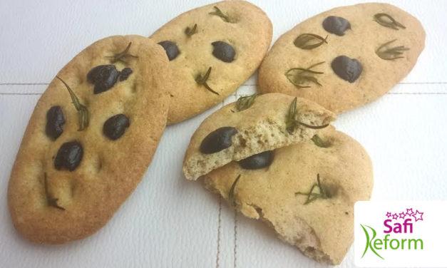 Mini-Focaccia – italienisches Brot (glutenfrei, milchfrei, kohlenhydratreduziert, Paleo)