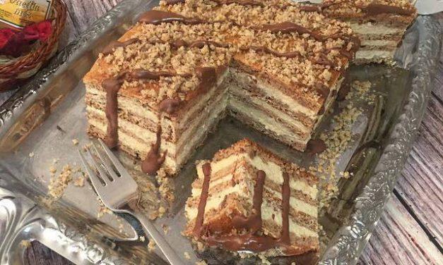 Kuchen mit Marlenka-Geschmack (glutenfrei)