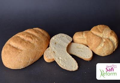 Brot, Baguettes, Brötchen, Kaiserbrötchen, Kipferl  (ballaststoffreich, glutenfrei, kohlenhydratreduziert um 97%, Paleo)