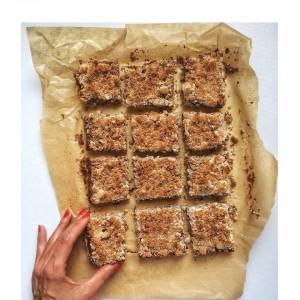 Streuselkuchen mit Apfel, Topfen, Mohn oder Waldfrüchten (eifrei, frei von Ölsaaten, glutenfrei, milchfrei, sojafrei, vegan, Paleo)