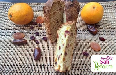 Weihnachts-Panettone (glutenfrei, kohlenhydratreduziert, Paleo)
