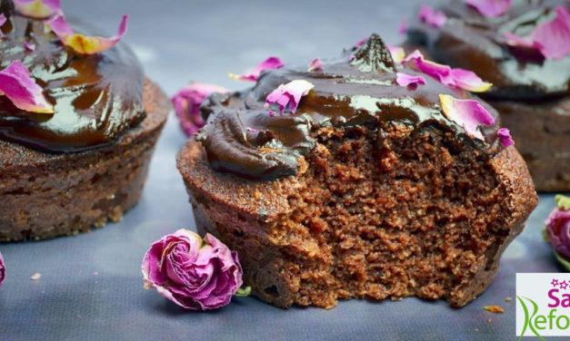 Schoko-Muffins (glutenfrei, milchfrei, ohne Zuckerzusatz, Paleo)