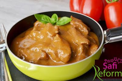 Wildrahmsauce  zu Fleischgerichten  (eifrei, glutenfrei, milchfrei, ohne Zuckerzusatz, sojafrei, Paleo)