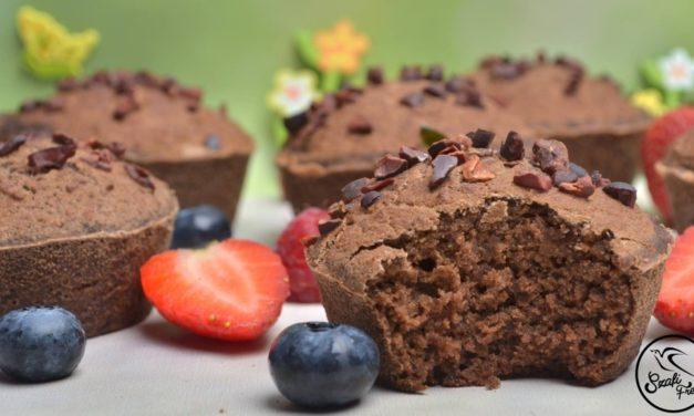 Obst-Muffins (eifrei, glutenfrei, milchfrei, sojafrei, vegan)