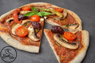 Pizzateig (eifrei, glutenfrei, milchfrei, vegan)