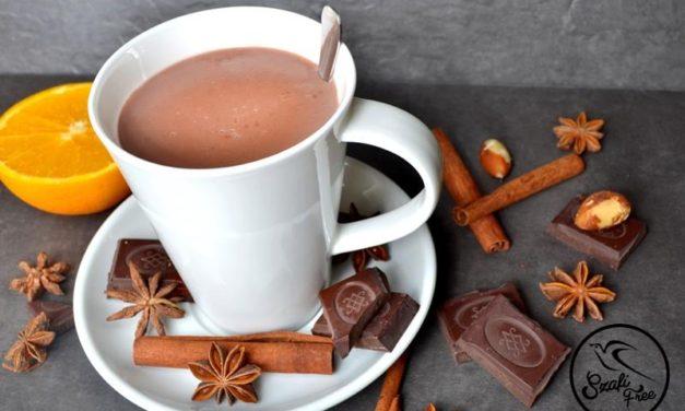 Heiße Schokolade (glutenfrei, milchfrei, sojafrei, vegan)
