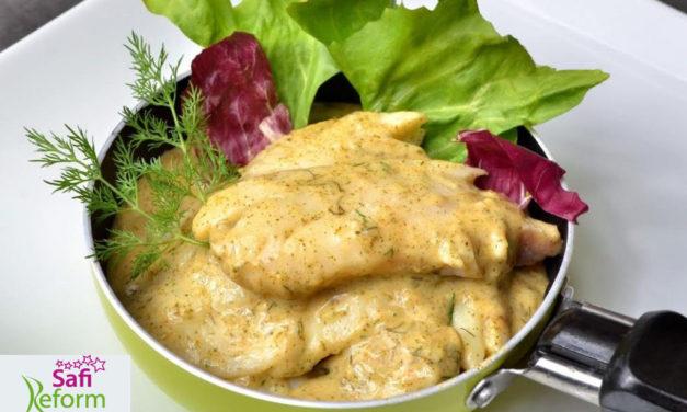 Fischfilets mit Sauerrahm (glutenfrei, milchfrei, Paleo)