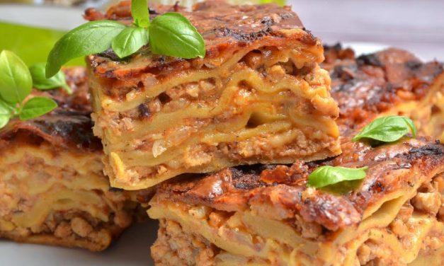 Lasagne (glutenfrei, kohlenhydratreduziert, Paleo)