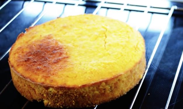 Biskuit-Torte (glutenfrei, milchfrei, Paleo)