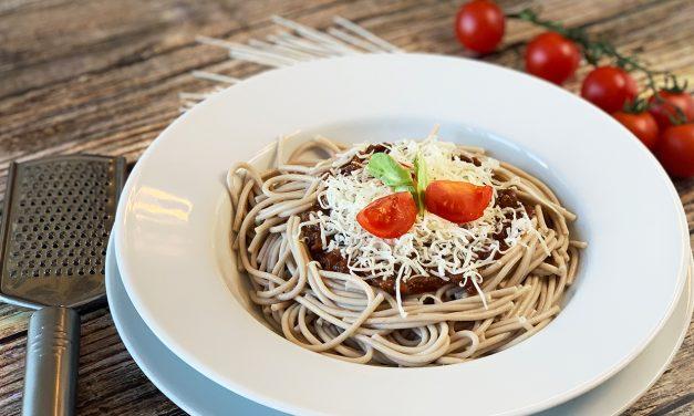 Spaghetti Bolognese (milchfrei, Paleo)