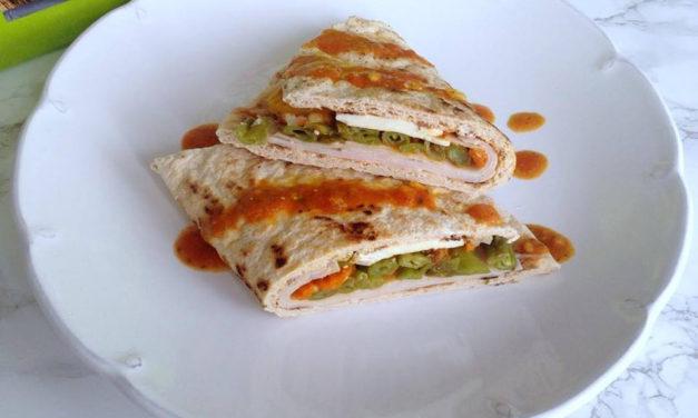 Tortilla (glutenfrei, hefefrei, kohlenhydratreduziert, milchfrei, sojafrei, Paleo)