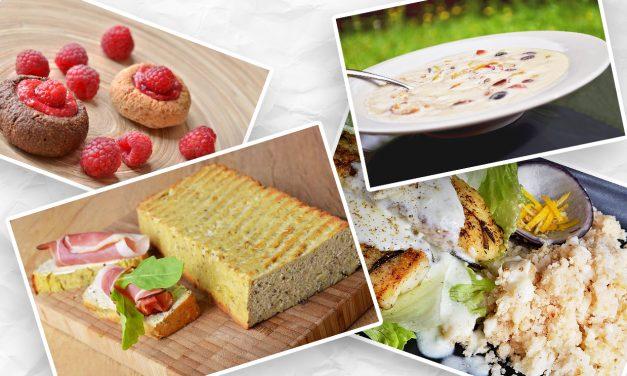 Paleo Speiseplan mit 1400 Kalorien am Tag (glutenfrei, milchfrei, Paleo)