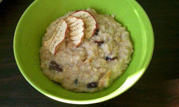 Frühstücks-Haferbrei (kann auch glutenfrei zubereitet werden, milchfrei)