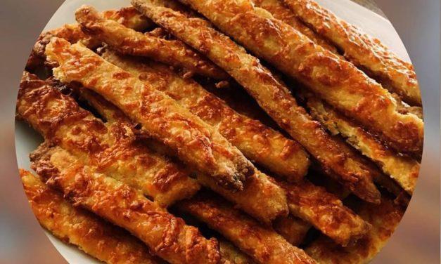 Topfenstangerl (glutenfrei, kohlenhydratreduziert, können auch milchfrei zubereitet werden)