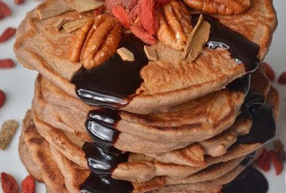 Protein Frühstückspfannkuchen (glutenfrei, milchfrei)