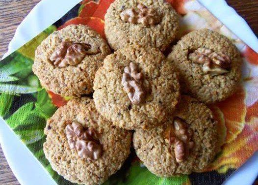 Hafer-Honigkekse (glutenfrei, milchfrei, ohne Zuckerzusatz)