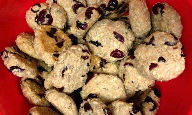 Dinkel-Haferflocken-Kekse (glutenfrei, haferfrei, milchfrei)