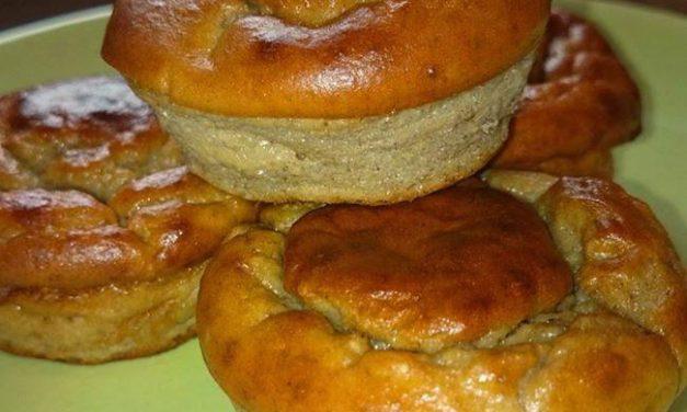 Kastanien-Bananen-Protein-Muffins (können auch glutenfrei zubereitet werden, milchfrei)