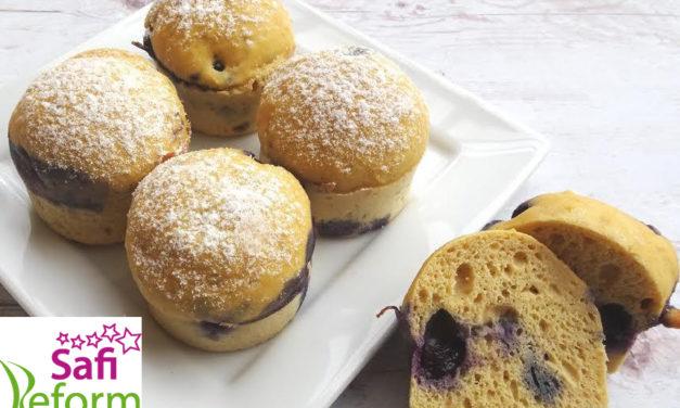 Muffins mit Hafermehl (glutenfrei, kohlenhydratreduziert, milchfrei, ohne Zuckerzusatz, sojafrei)
