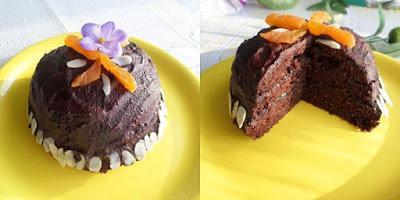 Mikrowellen-Kuchen mit extra viel Schokolade (glutenfrei, milchfrei, Paleo)
