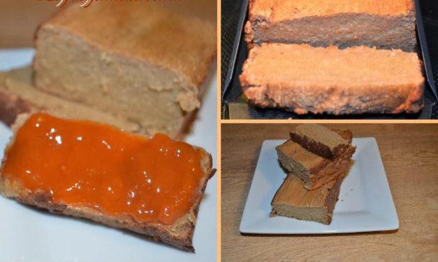 Protein Kokos-Apfel-Brot (glutenfrei, milchfrei)