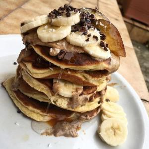 Eiweiß-Pfannkuchen (glutenfrei, milchfrei, kohlenhydratreduziert, Paleo)
