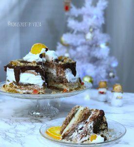 Somlauer-Torte (glutenfrei, kohlenhydratreduziert, ohne Zuckerzusatz, sojafrei)