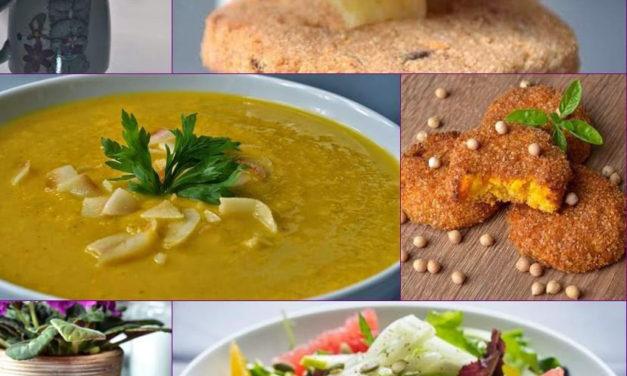 Veganer Ernährungsplan (ei-, fleisch-, gluten-, milch- und sojafrei, ohne Zuckerzusatz, zu 40% roh)