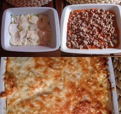 Zucchini-Lasagne (glutenfrei, milchfrei, Paleo)