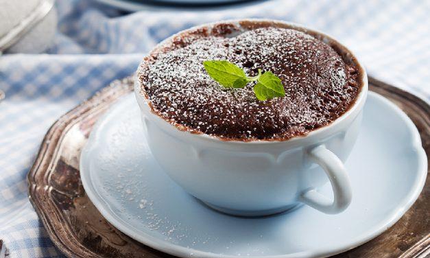 Mikrowellen-Kuchen im Becher (glutenfrei, milchfrei, Paleo)