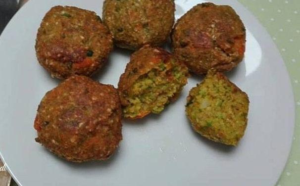 Gemüse-Bällchen (fleischfrei, glutenfrei, milchfrei, sojafrei)