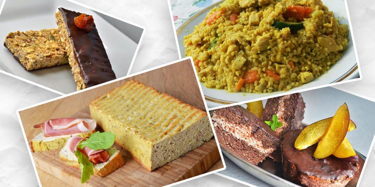 Ernährungsplan mit 1300 Kalorien am Tag / 2. Tag