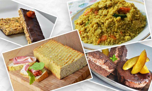 Ernährungsplan mit 1300 Kalorien am Tag / 2. Tag (glutenfrei, kohlenhydratreduziert, milchfrei, ohne Zuckerzusatz, 140 g Kohlenhydrate)
