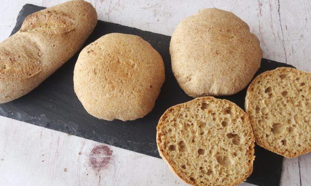Brötchen / Baguettes (glutenfrei, kohlenhydratreduziert, milchfrei, ohne Zuckerzusatz, Paleo)