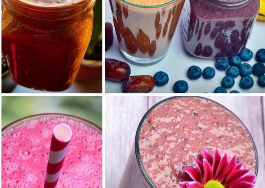 Protein Shake & Smoothie aus braunem Reiskeim-Proteinpulver (eifrei, frei von Süßungsmitteln, glutenfrei, milchfrei, vegan, zuckerfrei, Paleo)