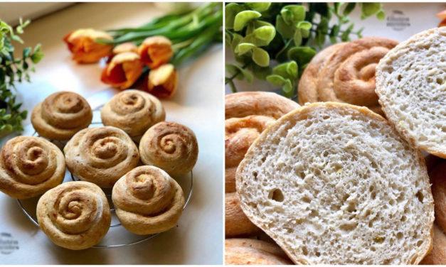 Brioches (fettarm, glutenfrei, hefefrei, milchfrei, ohne Zuckerzusatz, sojafrei, vegan)