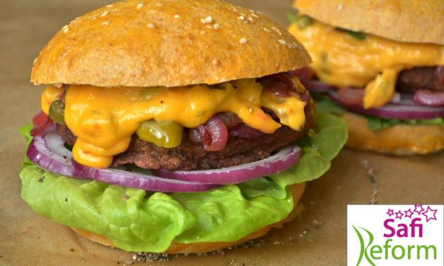 Hamburgerbrötchen (glutenfrei, hefefrei, kohlenhydratreduziert, milchfrei, Paleo-light)