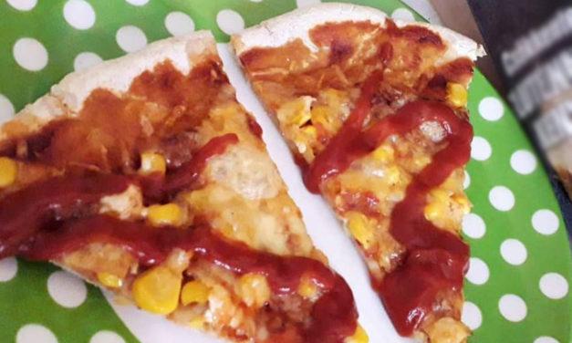 Pizza mit Hefe und reduziertem Ballaststoffgehalt (glutenfrei, milchfrei, sojafrei, vegan)