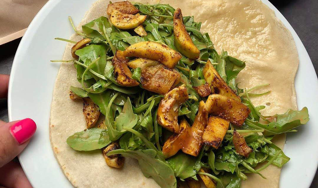 Tortilla / Burrito / Chapatis / indisches Brot mit reduziertem Ballaststoffgehalt (eifrei, fettarm, glutenfrei, milchfrei, vegan)