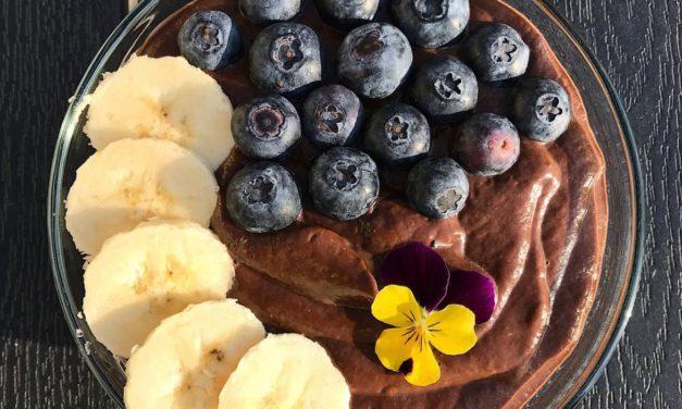 """Protein """"Pudding"""" (glutenfrei, milchfrei, ohne Zuckerzusatz, vegan)"""