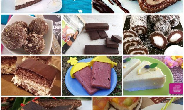 Die TOP 10 Süßigkeiten ohne Backen (glutenfreie, milchfreie, zuckerzusatzfreie Rezepte)
