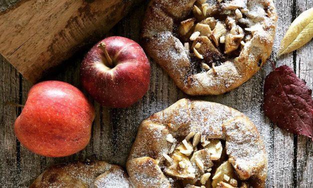 Apfel-Galette (Ballaststoffgehalt reduziert, eifrei, glutenfrei, milchfrei, vegan)
