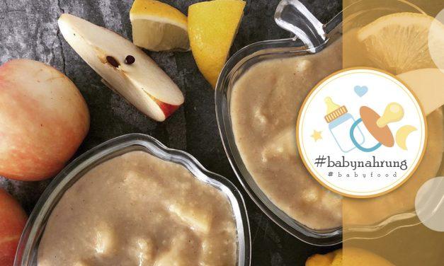 Baby-Speiseplan / Die Zubereitung aller Gerichte braucht ca. 10 Minuten / Beispiele