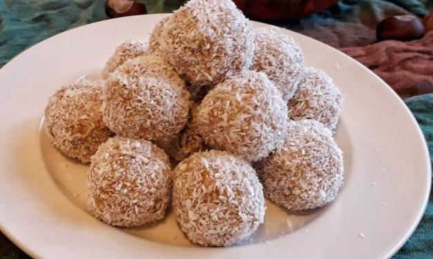 Schnelle Kürbis-Lebkuchen Kugeln (glutenfrei, milchfrei,eifrei, sojafrei, Zuckerzusatzfrei, paleo, vegan)